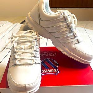 K-SWISS Men's Trinzler Lace-Up Sneaker White Sz 9